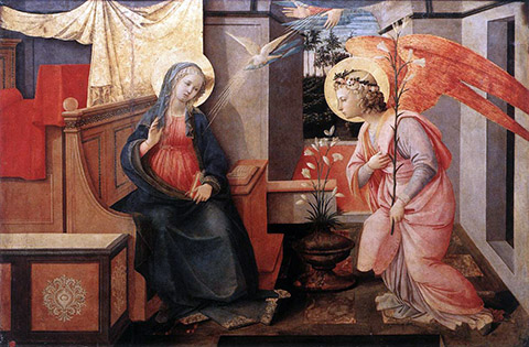 O Beata Virgo Maria, in Honor of the Feast of the Annunciation