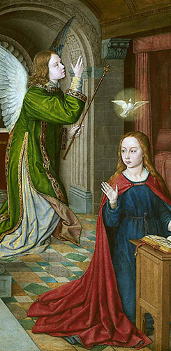 The Angelus, in Honor of the Feast of the Annunciation