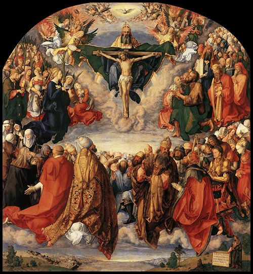 Adoration of the Trinity, Albrecht Durer