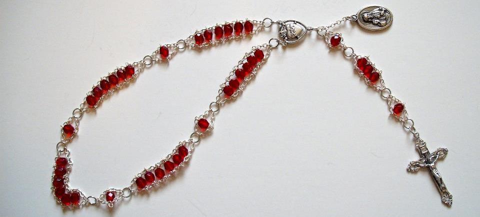 Sacred Heart Chaplet Beads